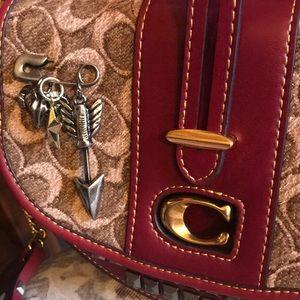 06367da0e Coach Bags   Saddle 24 In Signature Jacquard   Poshmark